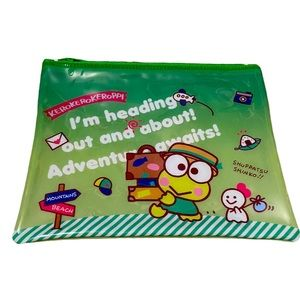 Keroppi makeup bag